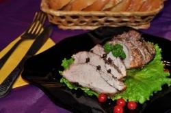 Кулинарный рецепт Свинина запеченная в мультиварке с фото