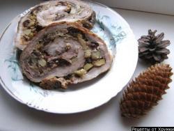Свиной рулет рецепт приготовления