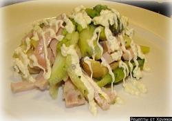 Как приготовить салат из брокколи рецепт с фото