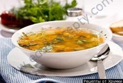 Кулинарный рецепт Луковый суп по-шотландски с фото