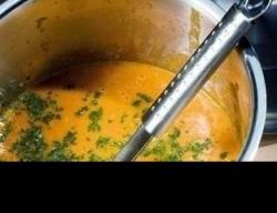 Рецепт Крем-суп из сладкого перца и помидоров с фото