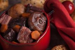 Кулинарный рецепт Мясо по-бургундски без маринования с фото