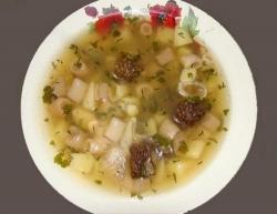 Как приготовить Суп из сморчков рецепт с фото