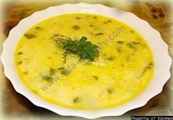 Сырный суп пюре с креветками рецепт с фото