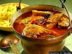 Суп уха по венгерски халасле рецепт