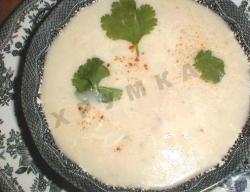 Кулинарный рецепт Суп-пюре с чесноком с фото