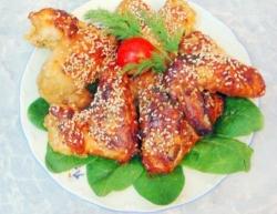Куриные крылышки в меду рецепт с фото