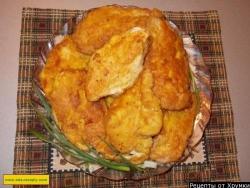 Как приготовить шницель куриный