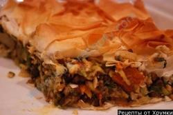 Кулинарный рецепт Пирог тертый с фото