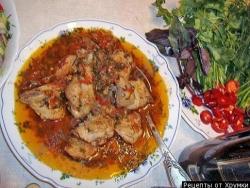 Кулинарный рецепт Рагу из фазана с фото