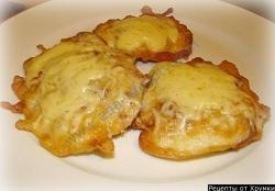 Кулинарный рецепт Жареная говядина с сыром с фото