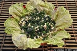 Кулинарный рецепт Салат курица маринованные грибы с фото