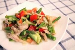 Салат из спаржи и курицы рецепт с фото