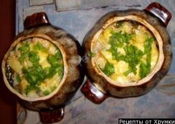 Кулинарный рецепт Картофель в горшочках с фото
