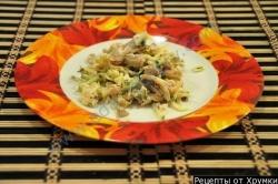Салат фасоль курица шампиньоны рецепт с фото