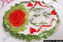 Кулинарный рецепт Закусочный мясной торт с фото
