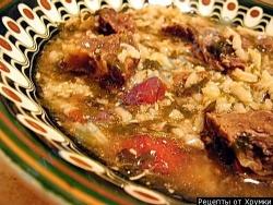 Кулинарный рецепт Суп из гуся с фото