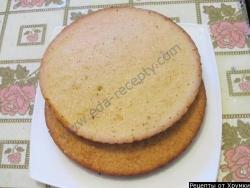 Бисквитные коржи как сделать рецепт приготовления
