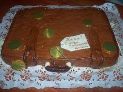 Торт Чемодан с фото