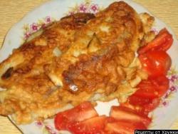 Кулинарный рецепт Рыба в тесте с фото