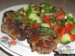Кулинарный рецепт Чаттбуллар (мясные котлеты) с фото