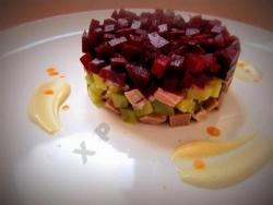 Салат с говядиной и свеклой рецепт с фото