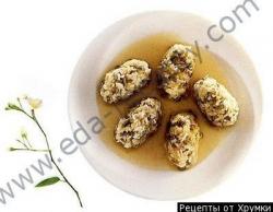 Кулинарный рецепт Тайские сладкие фрикадельки с фото