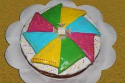 Торт Цветок рецепт с фото