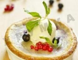 Кулинарный рецепт Блины со свежими ягодами по-датски с фото