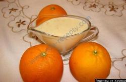 Английский апельсиновый крем