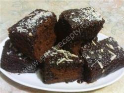 Кулинарный рецепт Шоколадное пирожное с фото