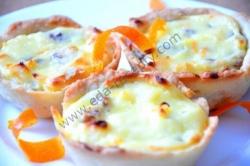 Корзинки с сырной начинкой