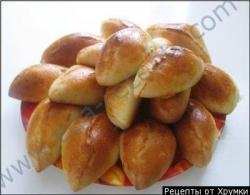 Кулинарный рецепт Пирожки с капустой с фото