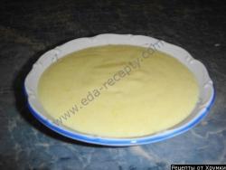 Кулинарный рецепт Крем заварной на песочном тесте с фото