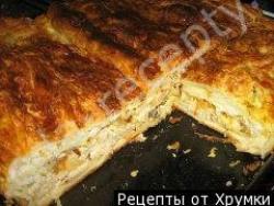 Кулинарный рецепт Пирог рыбный Рыбка  под тестом с фото