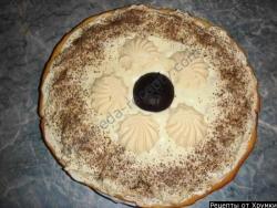 Кулинарный рецепт Торт из зефира на песочном корже с фото