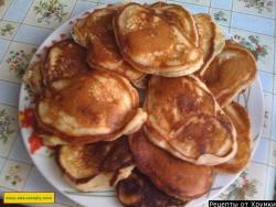 Пышные сладкие оладьи рецепт с фото
