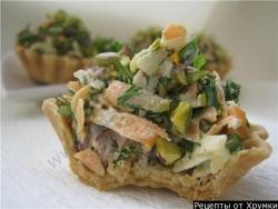 Салат в корзиночках рецепт приготовления