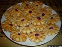 Слоеное печенье Ромашки