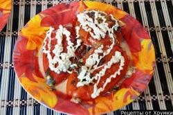 помидоры фаршированные фаршем рецепт с фото