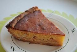 Яблочный пирог сгущенка