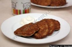 Кулинарный рецепт Печеночные оладьи с фото
