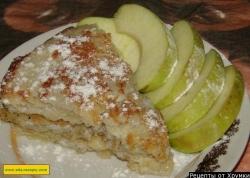 Кулинарный рецепт Сладкий омлет с фруктами с фото