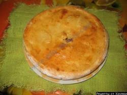 Кулебяка с капустой рецепт приготовления с фото