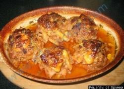 Кулинарный рецепт Картошка с фаршем из щуки с фото