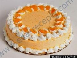 Кулинарный рецепт Йогуртовый торт с фото
