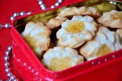 Кулинарный рецепт Печенье Курабье бакинское с фото