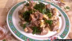 Кулинарный рецепт Жаркое из баранины с фото