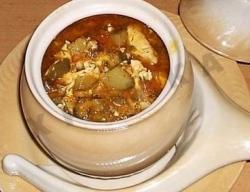 Рецепт Ушное из баранины с брюквой в горшочке по-древнерусски с фото