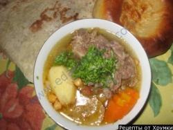 Кулинарный рецепт Хомшурбо с фото
